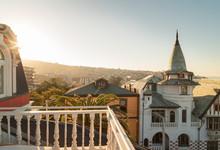 View From Balcony Of Valparais...