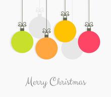 Christmas Colorful Balls Hangi...