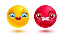 Funny And Angry Emoji
