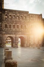 Exterior Of Porta Nigra In Tri...