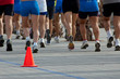 Cone and legs of runners