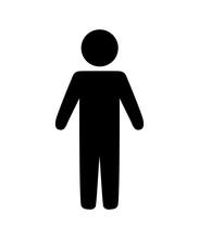Human Figure Silhouette Avatar