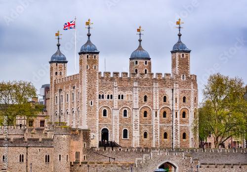 Staande foto Oude gebouw Tower of London, United Kingdom