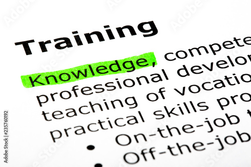Cuadros en Lienzo  Dictionary Definition Of The Word Training