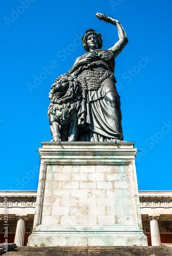Foto  statue of bavaria