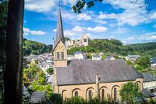 Kirche Und Ruine Larochette Lu...