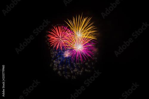 Fuochi d'artificio per eventi e celebrazioni Wallpaper Mural