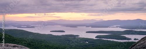 Winnipesaukee Sunset from Mt. Major Canvas Print