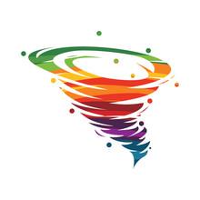 Tornado Logo Symbol Icon Illus...