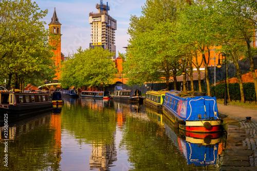 Castlefield, inner city conservation area in Manchester, UK Fototapeta