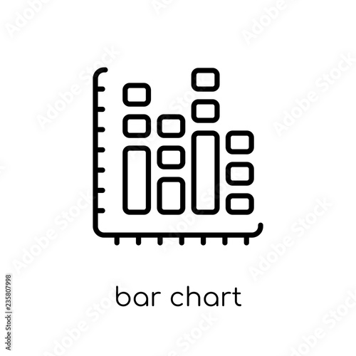Fotografía  Bar chart icon