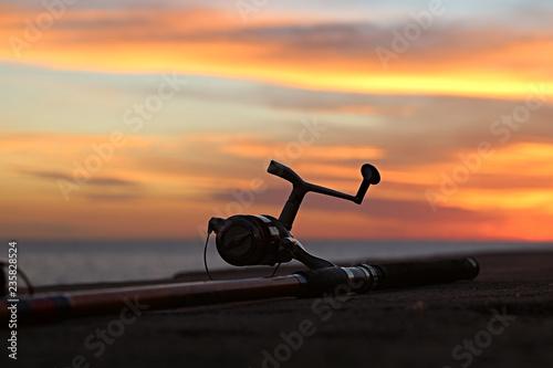 Fényképezés  Carretilha de pesca
