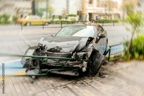 Obraz na płótnie 交通事故