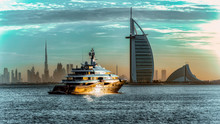 Sunrise Over Dubai City