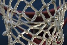 Basketball Hoop Net Close Up