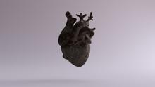 Old Dusty Iron Anatomical Hear...
