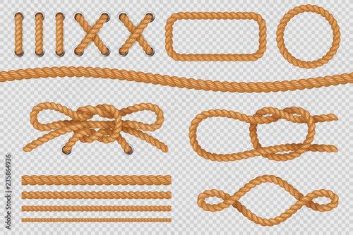 Rope elements Tableau sur Toile
