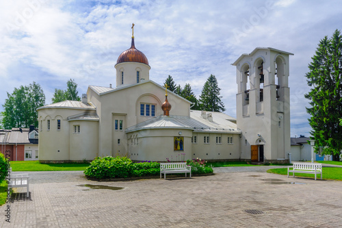 New Valamo Orthodox monastery Fototapet