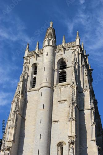Fotografía  Sommet de la tour Saint-Nicolas dans l'abbaye du Bec-Hellouin