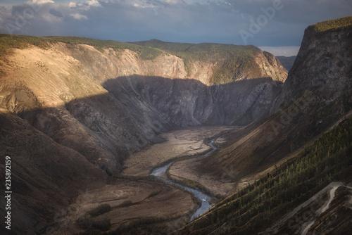 Keuken foto achterwand Grijze traf. landscape, Altai, Russia