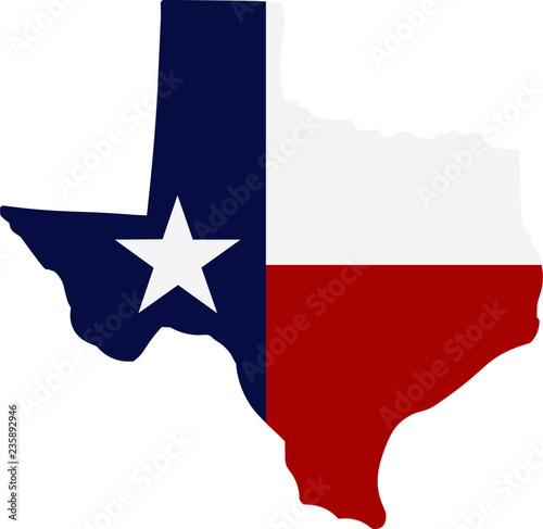 Lone Star State - State of Texas Wall mural