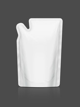 White Refill Pouch Isolated On...