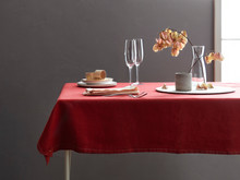 Table Setting Near Gray Wall
