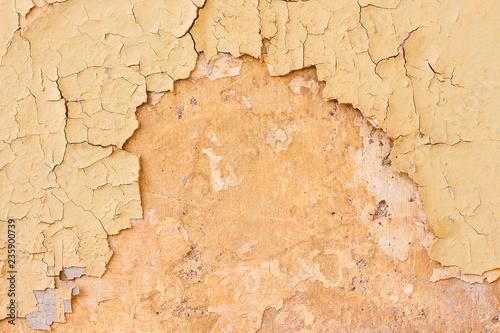 Fotografie, Obraz  Empty Old  Wall Texture