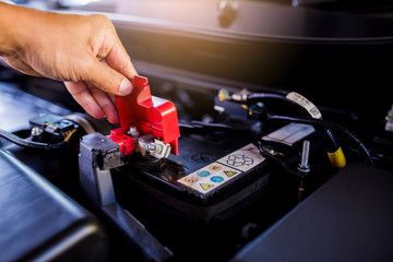 Check and maintenance the battery in car with yourself.