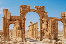 Palmyra, Syria - Ruins Old Gre...
