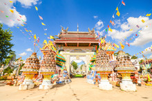 Wat PA Non Sawan Roi Et, Thailand