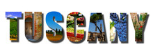Tuscany Italy Banner Collage O...