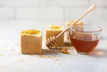 Handmade Soap With Honey And C...