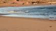 Sunset on the ocean beach in Tenerife Canary islands Spain