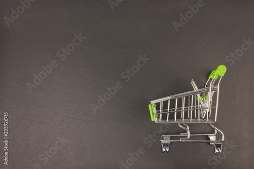 Photo  Shopping cart.