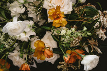 Bouquet Of White And Yellow Fl...