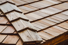 Wood Texture Background. Roof