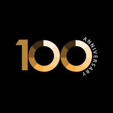100 Year Anniversary Vector Te...