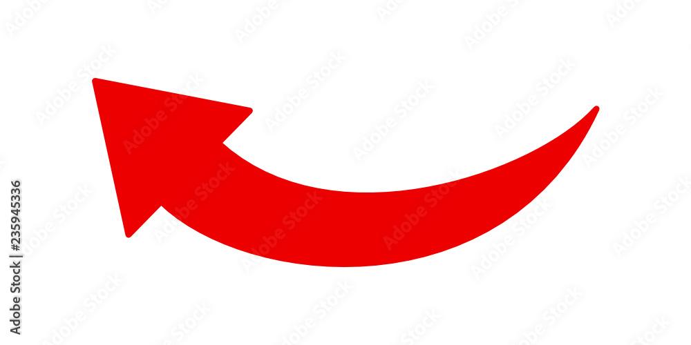 strzałka ikona - obrazy, fototapety, plakaty
