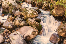 Small Stream With Rocks At Dee...