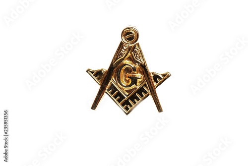 Valokuva  Masonic Emblem Lapel Pin