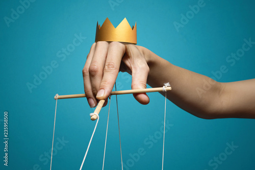 Fotografie, Obraz Concept of manipulation