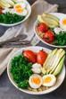 Breakfast quinoa bowls