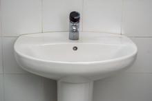 Lavabo/ Un Lavabo Blanco Visto...