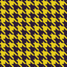 Houndstooth Purple And Yellow ...