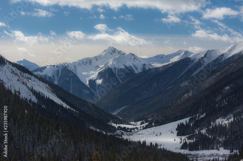Fotografie, Obraz  Colorado Winter Landscape near Silverton