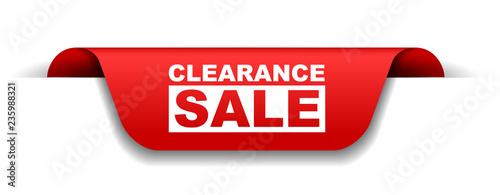 Cuadros en Lienzo red vector banner clearance sale