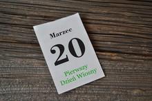 20 Marca - Pierwszy Dzień Wio...