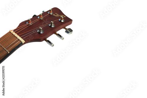 Fotografia, Obraz  Close up of an acoustic guitar