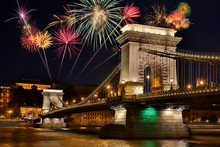 Firework Display Over Szecheny...